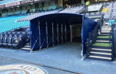 Manchester City Tunnel right side view