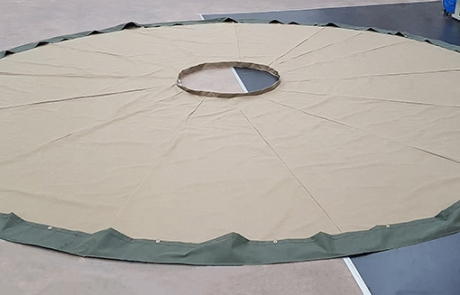 Canvas Yurt Cover