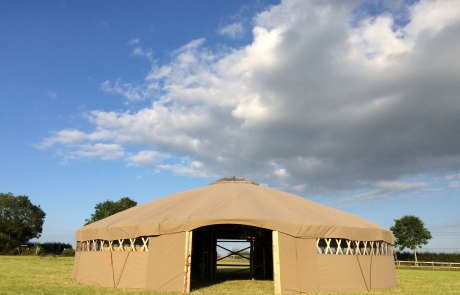 Yurt Front Image