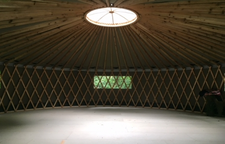Yurt Inside Image