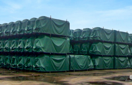 Stillage Cover Green