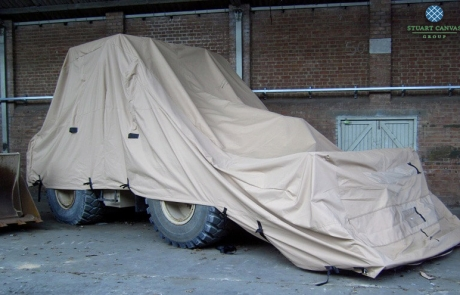 Large Military Plant Sand Cover