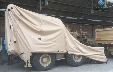 Military Digger Sand Cover