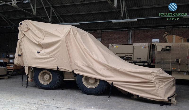 Military Plant Sand Cover JCB