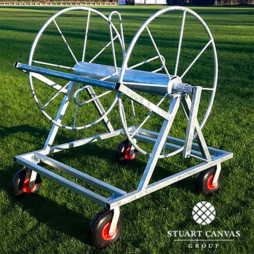 Cricket Boundary Rope Reel Trolley -SCP