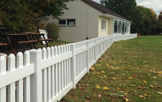 fencing by Stuart Canvas Cricket