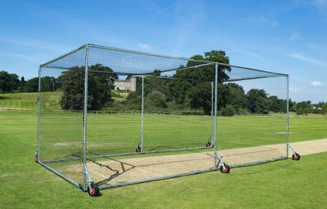 Mobile Cricket Cage by Stuart Canvas Cricket UK