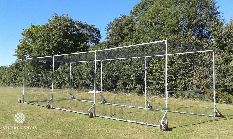 Test Batting Mobile Cage by Stuart Canvas