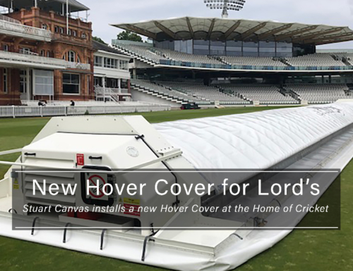 New Hover Cover at The Home of Cricket