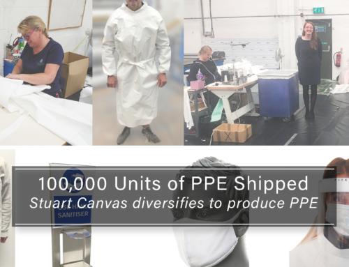 100,000 PPE Units Shipped