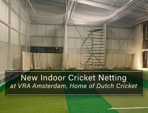 New Indoor Cricket Netting at VRA Amsterdam