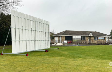 Cricket Sightscreen by Stuart Canvas for Ribblesdale Wanderers CC