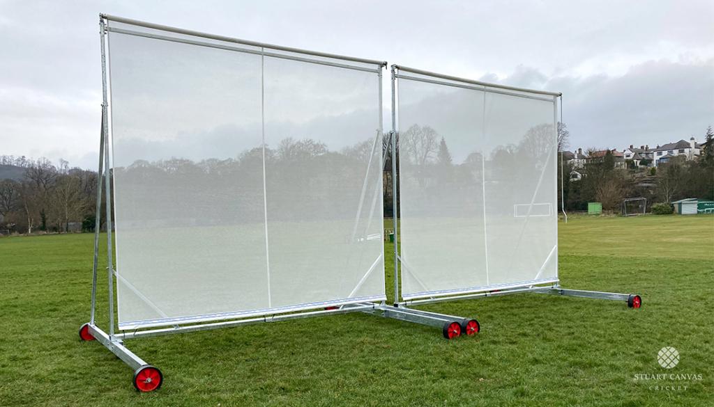 Cricket Mesh Sightscreen by Stuart Canvas