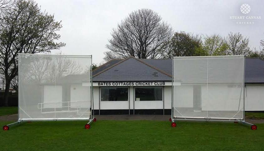 Roller Mesh Cricket Sight Screens Stuart Canvas