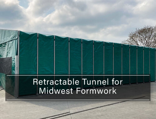 Retractable Tunnel for Midwest Formwork